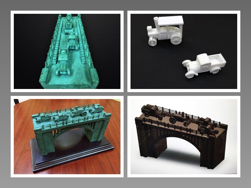 Impresión 3D en esculturas y orfebrería | Puente del Río Guadalporcún