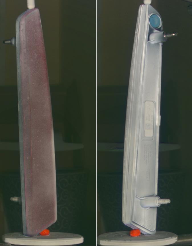 Foto del escaneado de repuestos de coche