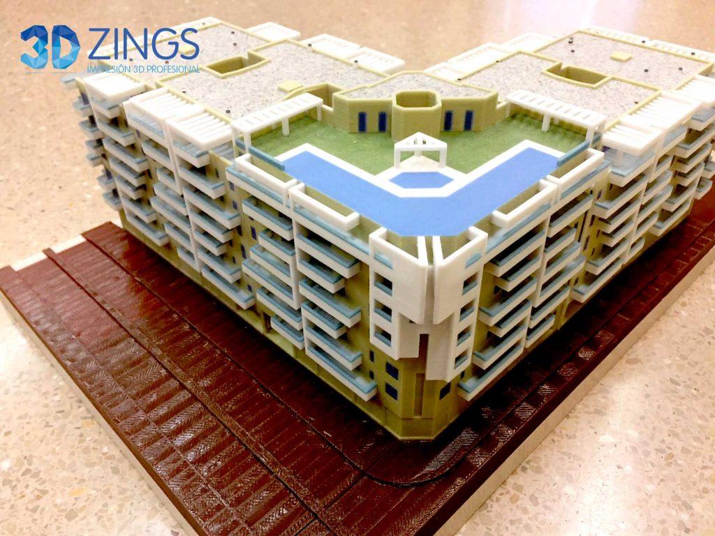 IMG arquitectura con impresión 3d