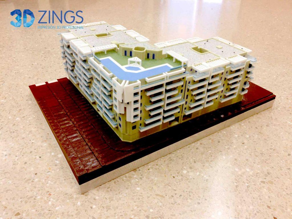 IMG impresión 3d para arquitectura