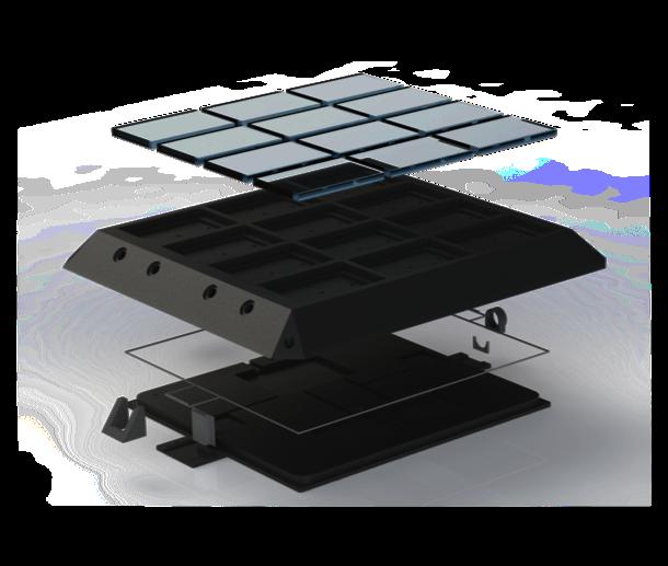 Imagen de las partes del proyecto en ingeniería aditiva