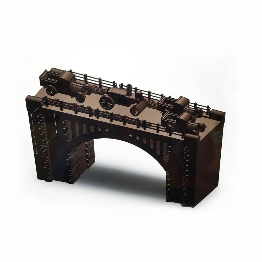 Recreación del puente de Sevilla