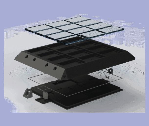 Smart CitySen diseño 3D del proyecto