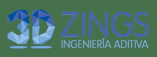 img logotipo 3DZings ingeniería aditiva