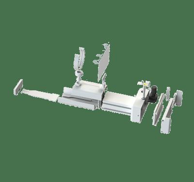 Retinoscopio por partes reducido